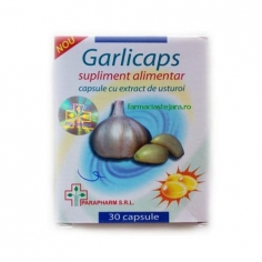 GARLICAPS CU EXTRACT DE USTUROI